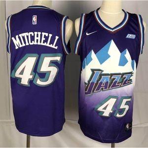 Utah Jazz Donovan Mitchell Jersey
